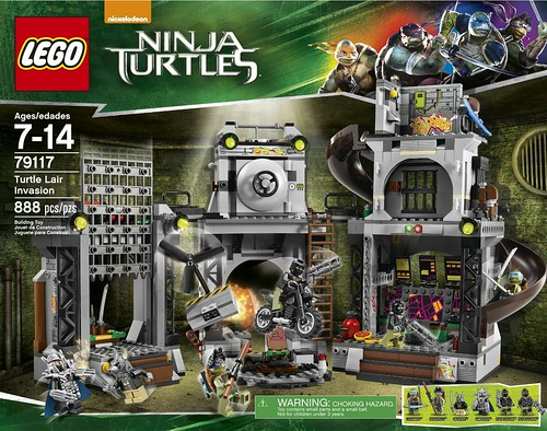 79117 Turtle Lair Invasion BOX