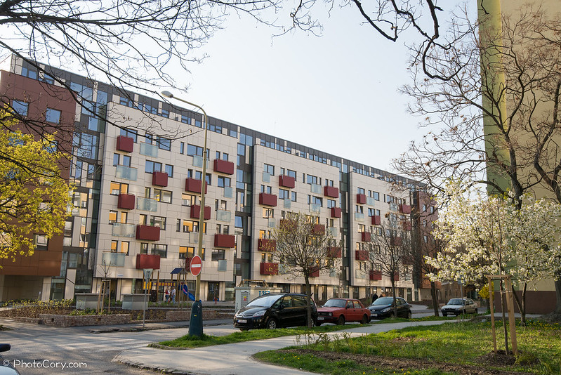 new block of flats in Kosice, Slovakia