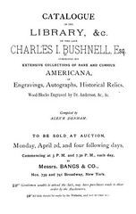 1883 Bushnell Library sale