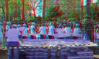 London Marathon 2014 in 3D