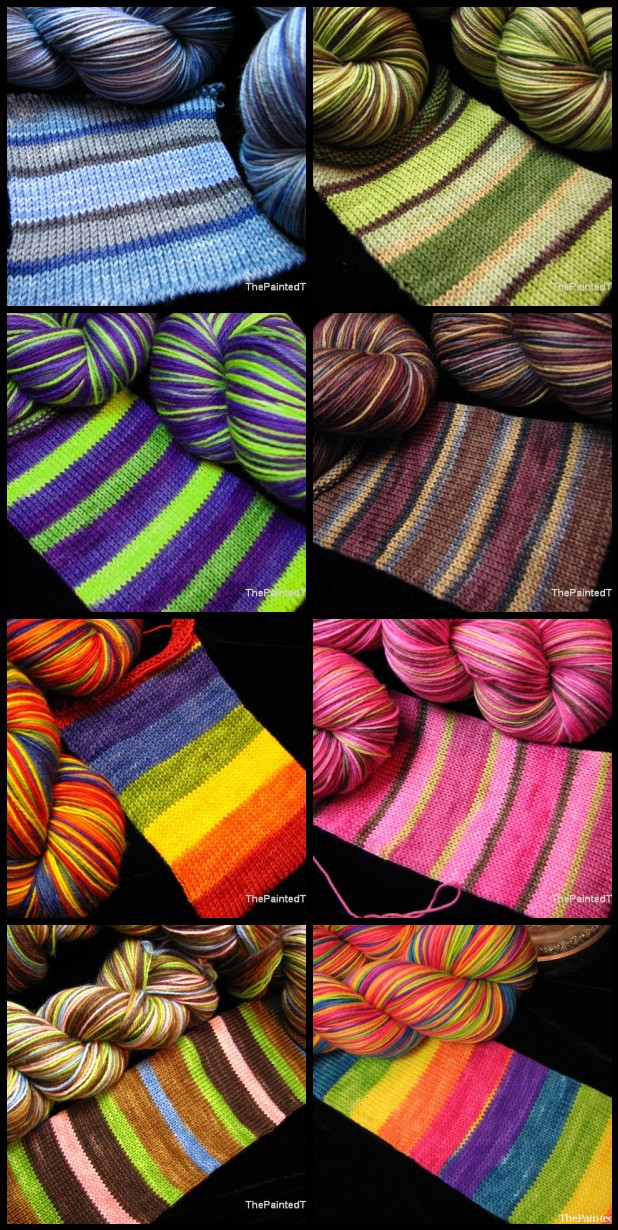Striping Sock Yarn Update 4/17/14