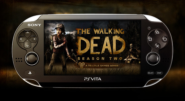 The Walking Dead S2 on PS Vita