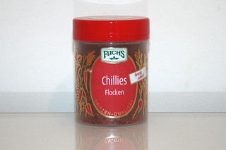 12 - Zutat Chili-Flocken / Ingredient chili flakes
