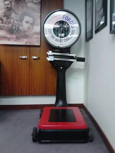 The Cut The Waist Challenge Scale of Rob Ford, Toronto City Hall