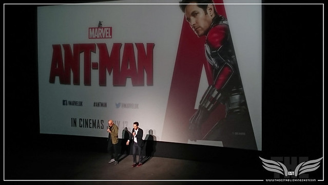 The Establishing Shot: PEYTON REED & PAUL RUDD SURPRISE US WITH A RUN DMC STYLE RAP AT A SCREENING OF MARVEL'S ANT-MAN IN LONDON