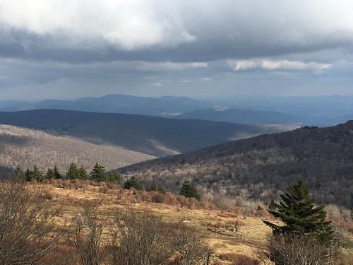 graysonhighlandsstatepark beauty virginia mountains view scenic landscape park tree sky cloud shadow plant