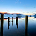 Blue Dawn Derwent Water by Dave Massey Photography