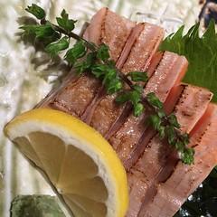 久しぶりに寿司!炙りサーモントロットロでした!