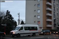 Wolkwagen Crafter - STAO 72 (STAO PL, Société des Transports par Autocars de l'Ouest – Pays de la Loire) (Transdev) / Setram (Société d'Économie Mixte des TRansports en commun de l'Agglomération Mancelle)