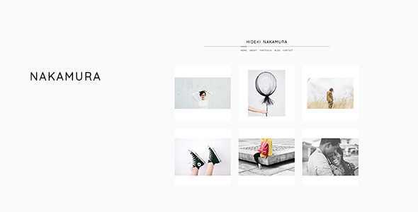 Nakamura WordPress Theme free download