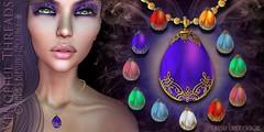 Vengeful Threads - Original mesh - Ostaras blessing  Necklace_A