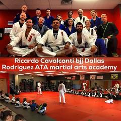 Another great time teaching kids and adults bjj class , at Rodriguez ATA martial arts academy .#ricardocavalcantijiujitsudallas #iamcavalcanti #sonsofcavalcantidallas