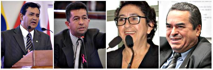 Matéria do blog sobre despejo deixa pistola militantes do DEM em grupo do WhatsAPP, Erasmo, Henderson, Maria José e Lira Maia