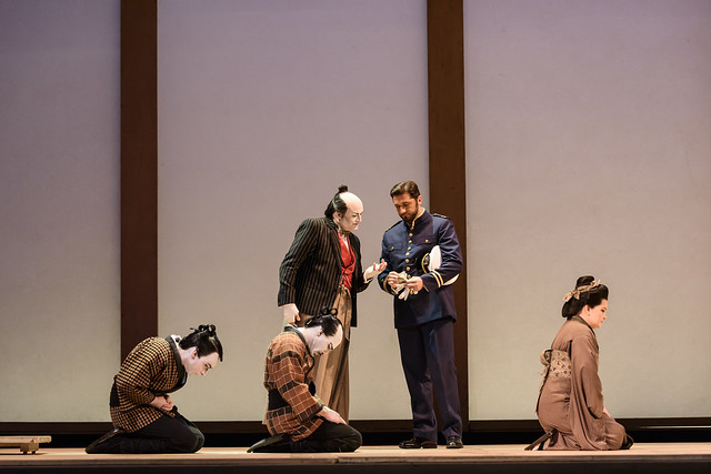 Carlo Bosi and Marcelo Puente in Madama Butterfly © ROH 2017. Photograph by Bill Cooper
