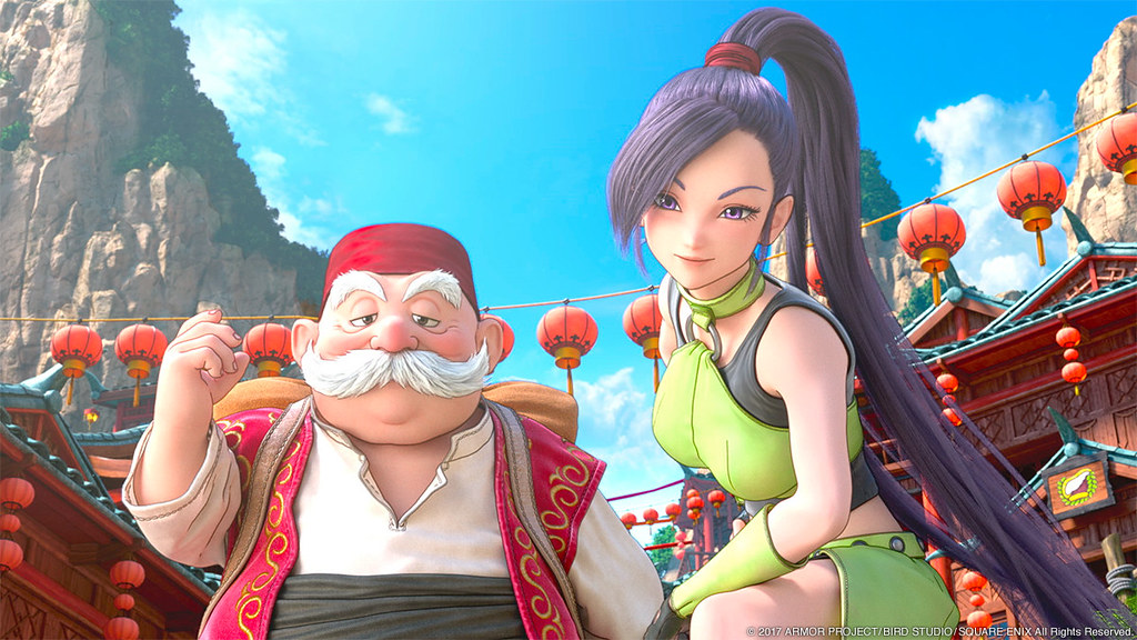 [Dragon Quest XI] เผยฉากต่อสู้แบบคลาสสิคและโมเดิร์น!