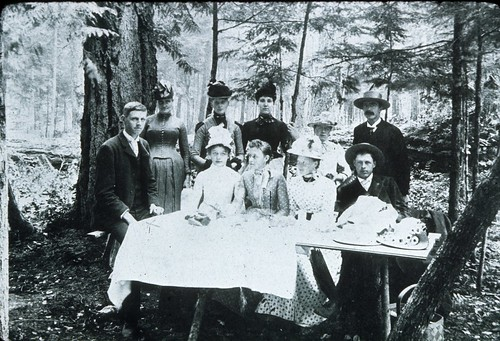 Stillstad family picnic, 1894