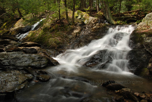 Upstream from Parker Brook Falls, MA