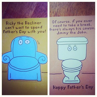 June 11 : something #funny father's Day card this year #fmsphotoaday