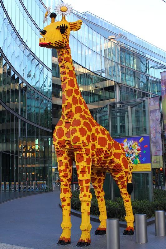 Berlin - Lego Giraffe