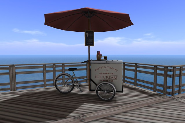 What Next - Sandbridge Ice Cream Cart