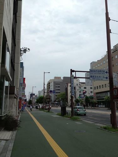 曇り空の高知市 by haruhiko_iyota