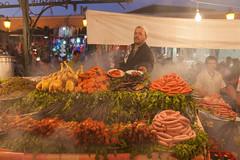 Place Jemaa el-Fna - Aicha n°1 - Marrakech - Morocco - Maroc - Maroko - Μαρόκο - Fas - Marruecos - Marokko - Марокк picture image photo