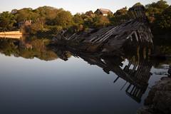 Radford Wreck Reflection