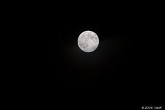 Super moon in Zurich, 23.06.2013