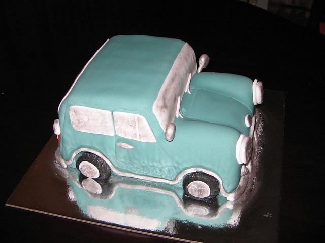 Mini Cooper S Birthday Cake Flickr Photo Sharing