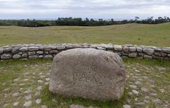 boulder, stone wall, soil, mound, rock,