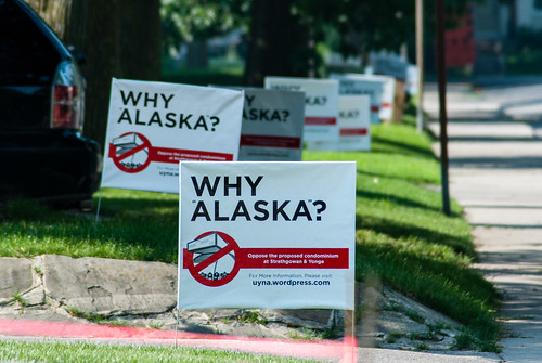 "The neighbourhood speaks: Why ""Alaska"" ? #184/365 by PJMixer"