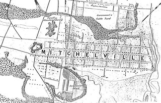 Mitchelville Map 1864