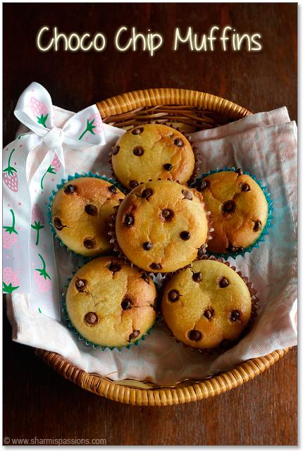 Choco Chip Muffins
