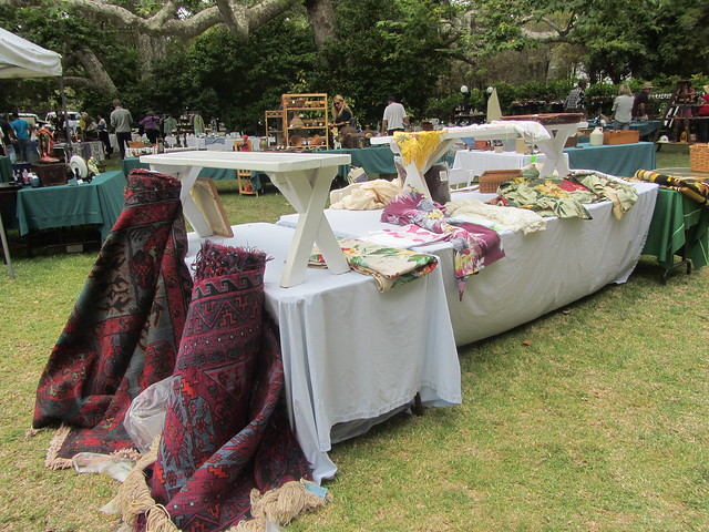 vintage linens and rugs