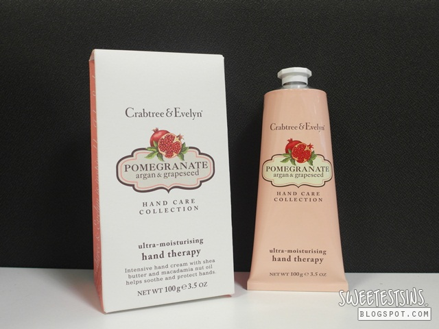 crabtree & evelyn pomegranate argan & grapeseed conditioning hand wash and ultra moisturizing hand therapy review (3)