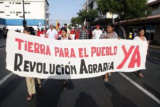 Guayaquil, Marcha  de los movimientos sociales por la  XII Cumbre Presidencial de la Alianza Bolivariana Para Los Pueblos de Nuestra América – Tratado de Comercio de los Pueblos