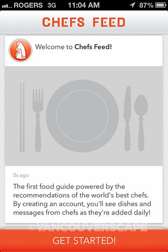 Chefs Feed iPhone App-1
