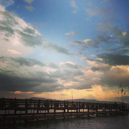 #northtahoe #sunset