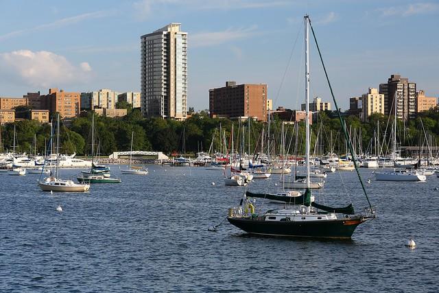 McKinley Marina August Evening