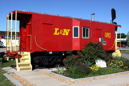 train tn tennessee caboose 1964 ln tullahoma 1092 coffeecounty bmok