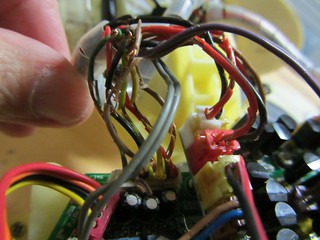 Robosapien2 wires without insulation