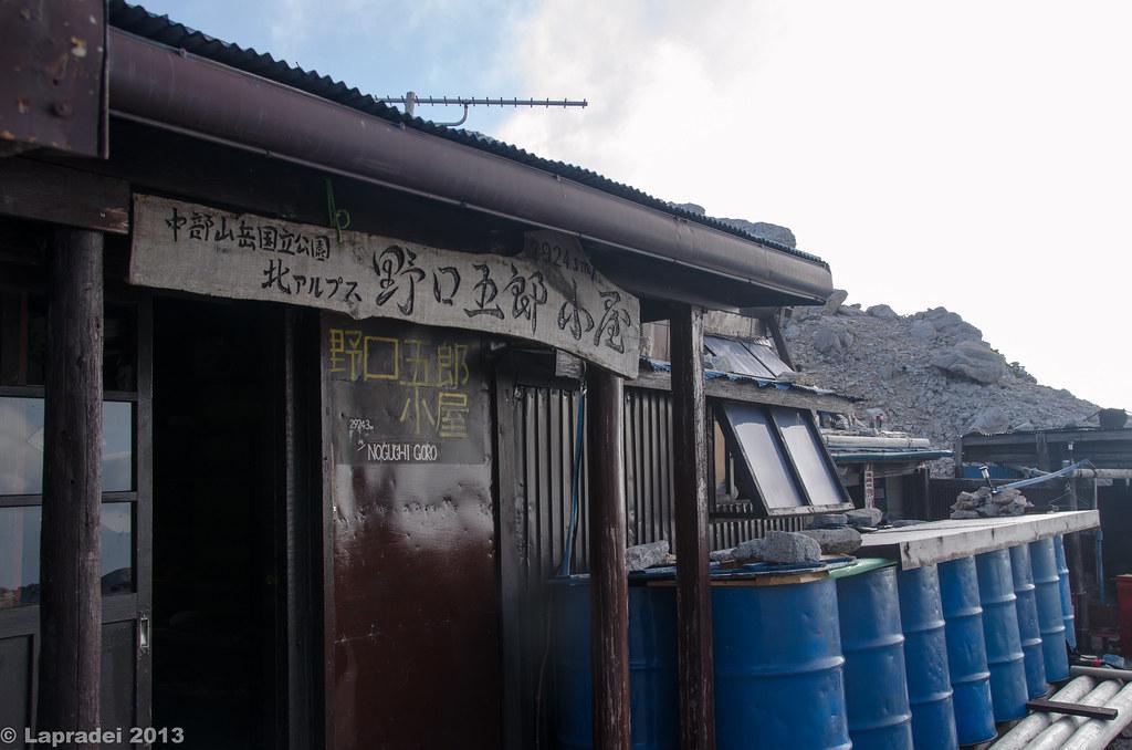 20130811 野口五郎小屋