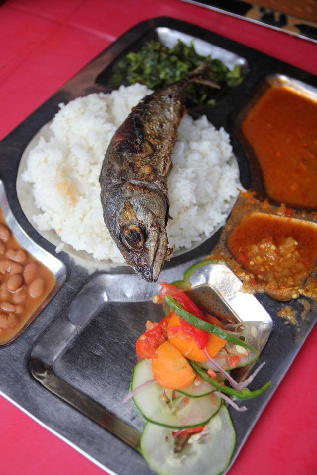 A great Tanzanian meal!