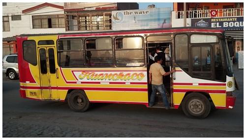 완차코 가는 버스