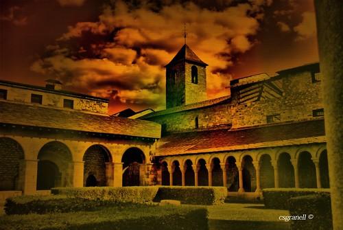 españa cat arquitectura monumento catedral catalunya cataluña romanico lleida turistic turistico lerida romànic monumet fotocomposición 2013 csgranell seud´urgel laseud´urgel