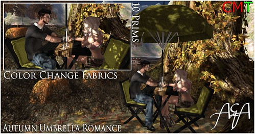 ::A&A:: Autumn Umbrella Romance - The Kollective by Alliana Petunia