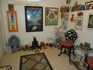 Harmonizing Health Retreat - meditation room