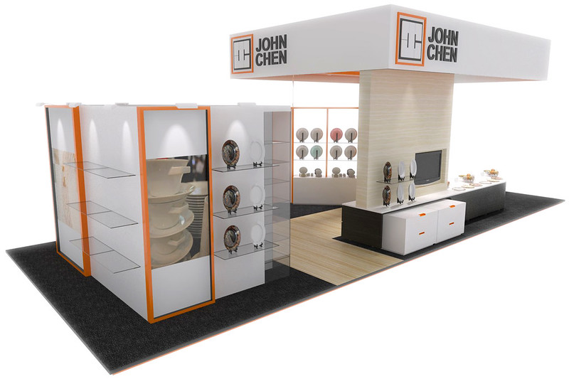 Exhibition Stand Design Sketchup : Helios works john chen group exhibition design singapore