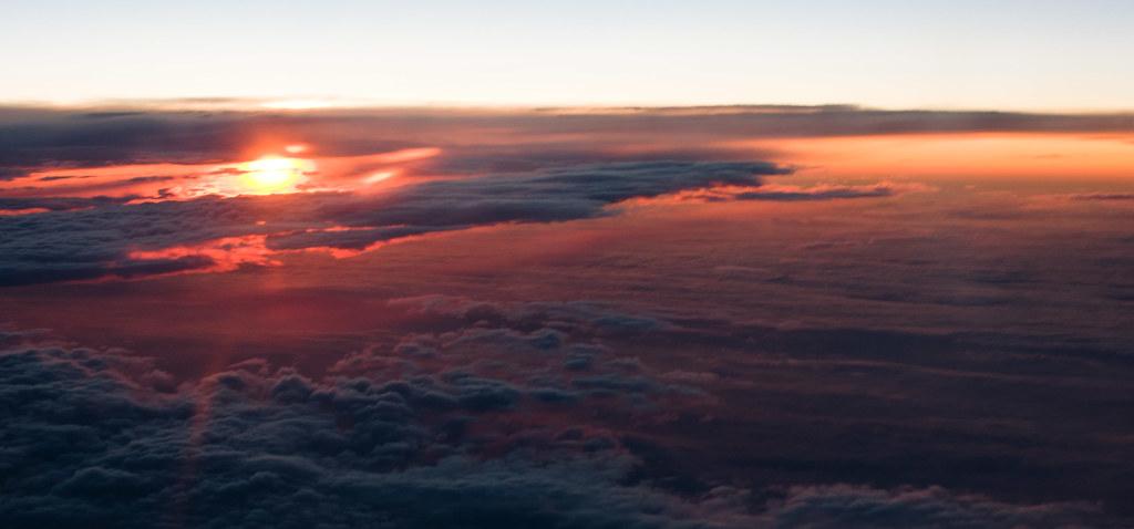 Morning sky from the seat windows ! | Loic Marnat | Flickr