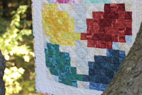 Pixelated Vine Quilt - d